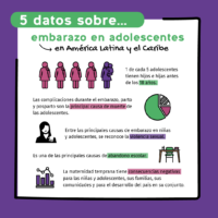 Semana de prevención de embarazo en adolescentes